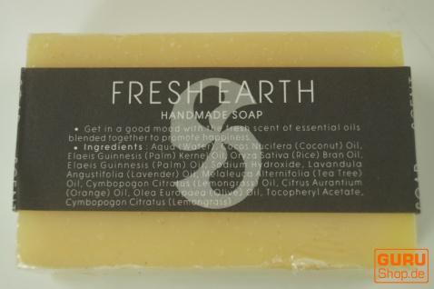 Handgemachte Duftseife, 100 g Fair Trade - Fresh Earth - Vorschau 2