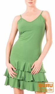 Minikleid, ärmellos aus Bio-Baumwolle / Chapati Design - green
