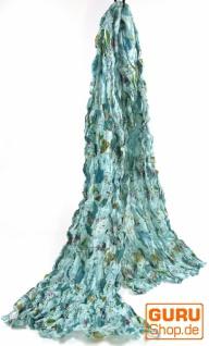 Baumwolltuch mit Blumenmuster in 4 Farben - Vorschau 2