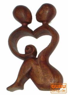Holzfigur, Statue, Deko Objekt Feng Shui - `Liebe`