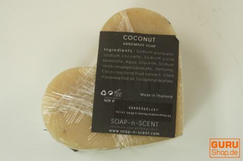 Seifenset Heart on the Rock, 75 g Seife auf Bimsstein, Fair Trade - Kokosnuss - Vorschau 4