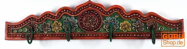 Indische Vintage Hakenleiste, Garderobe - Design 2