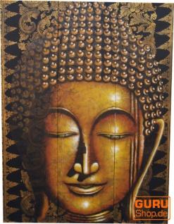 3 Teiliges Buddha Wandbild auf Leinwand 120*90 cm - Motiv 11