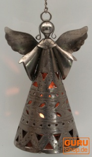 Teelichthalter - schwebender Engel