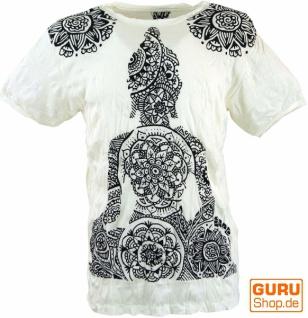 Sure T-Shirt Mandala Buddha - weiß