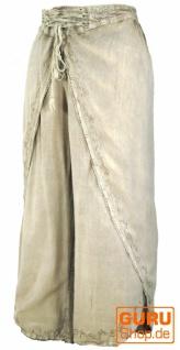 Palazzohose, Boho Hosenrock, Orienthose, Sommerhose - beige