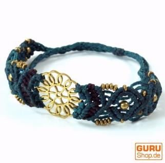 Goa Armband, Makramee, Festival Armband - Mandala Modell 7