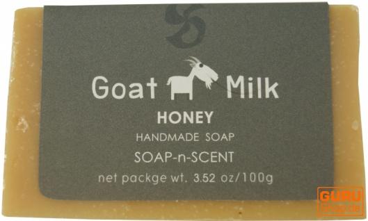 Handgemachte Ziegenmilch Seife, 100 g Fair Trade - Honig