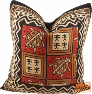 Kissenbezug Blockdruck, Dekokissen Bezug, Kissenhülle Ethno, Traditionelle Herstellung - Muster 24 - Vorschau 3