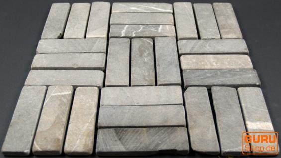 Stäbchen Mosaik Fliesen aus Marmor (P-06) - Design 10 - Vorschau 3