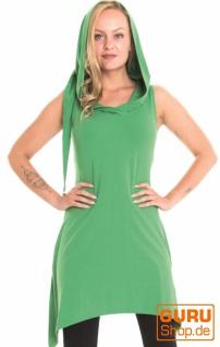 Tunika aus Bio-Baumwolle / Chapati Design - green