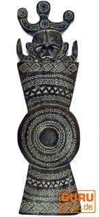 Osttimor Maske, Ethno Maske, geschnitzte Maske - Modell 3