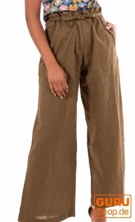 Hose aus Bio-Baumwolle / Chapati Design - olive