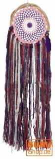 Traumfänger - Violett 24 cm