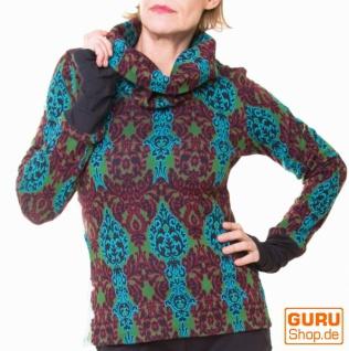 Pullover aus Bio-Baumwolle / Chapati Design - green multi