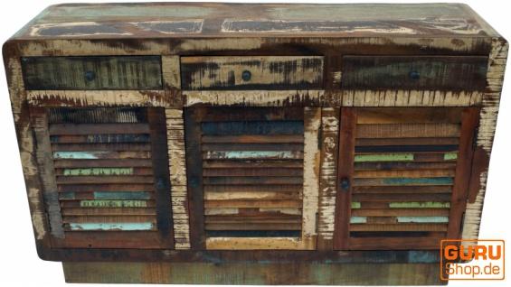 Massive Vintage Kommode, Highboard, Sideboard, Flurschrank - Modell 5 - Vorschau 2