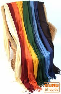 Einfarbiges dünnes Tuch in 8 Farben - Vorschau 1