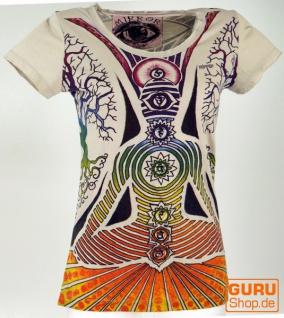 Mirror T-Shirt - Chakra / beige