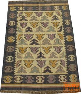 Orientalischer grob gewebter Kelim Teppich 250*150 cm - Muster 4