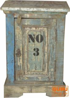Vintage Beistellschrank, Kommode, Nachttischschrank, Flurschrank - Modell 30