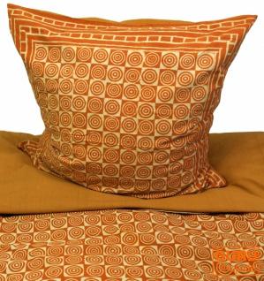 Handbedruckte Blockdruck Bettwäsche aus Baumwolle - Motiv 13 (single 135*200 cm)
