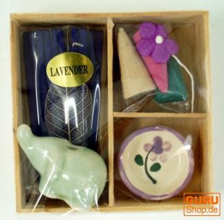 Räucher & Duftset - Lavender