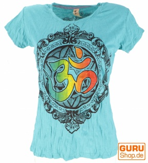 Baba T-Shirt - türkis / Om