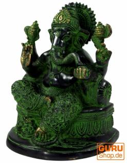 Messingfigur Ganesha Statue - Vorschau 2