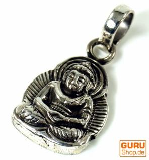 Silber Anhänger Buddha Talisman - 1