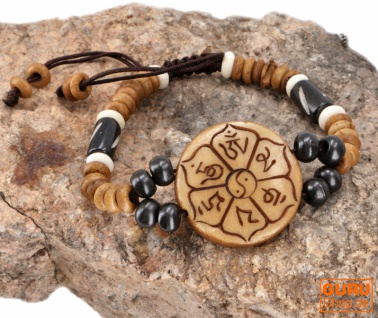 Tibet Armband, buddhistisches Armband, Ethno Tribal Schmuck - Model 4