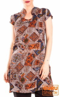 Minikleid / Chapati Design - orange patch