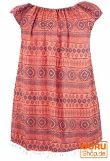 Bali Kinderkleid, Sommerkleid, Trägerkleid, Strandkleid, Mädchenkleid - cantaloupe