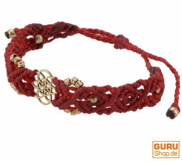 Goa Armband, Makramee, Festival Armband - Mandala Modell 18