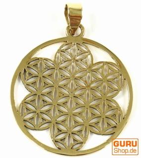 Indisches`Flower of life` Amulett, Talisman Medaillon - Model 5 - Vorschau 2