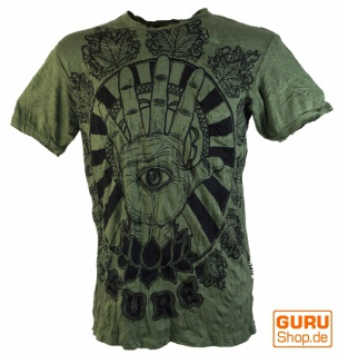 Sure T-Shirt Magic Eye - olive