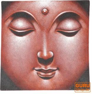 Kleiner Buddha auf Leinwand 40*40 cm - Motiv 17