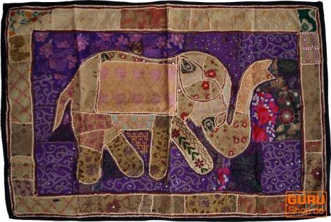 Indischer Wandteppich Patchwork Wandbehang, Einzelstück 150*100 cm - Muster 57