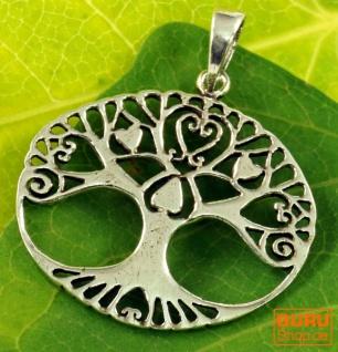 Silberanhänger Baum des Lebens, Tree of Life Talisman