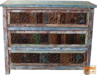 Massive Vintage Kommode, Highboard, Sideboard, Flurschrank - Modell 18