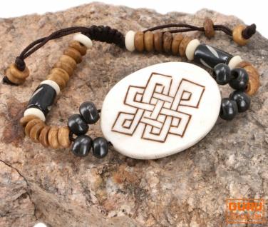 Tibet Armband, buddhistisches Armband, Ethno Tribal Schmuck - Model 6
