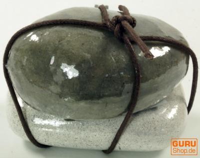 Seifenset Soap on the Rock, 90 g Seife auf Bimsstein, Fair Trade - Black Rice - Vorschau 2
