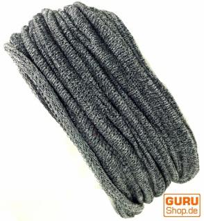 Magic Hairband, Dread Wrap, Schlauchschal, Stirnband, Mütze - Loopschal grau