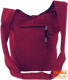Sadhu Bag, Goa Tasche, Schulterbeutel - rot