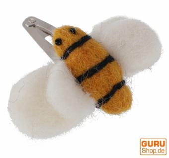 Filz Haarspange - Bienchen