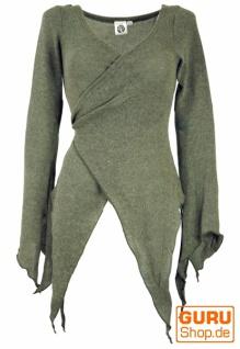 Wickel-Strickjacke, Pixi Wickeljacke - khaki - Vorschau 1