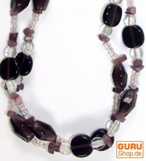 Modeschmuck, Boho Perlenkette - Model 13