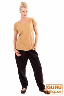 T-Shirt aus Bio-Baumwolle / Chapati Design - beige - Vorschau 2
