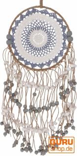 Traumfänger mit Perlen - 25 cm