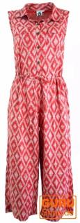Boho Jumpsuit, Overall, Einteiler - rot