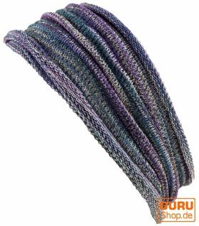 Magic Hairband, Dread Wrap, Schlauchschal, Stirnband - Haarband violett